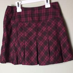 American Girl Plaid & Pleated Skirt